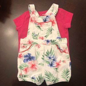 Carters overall set